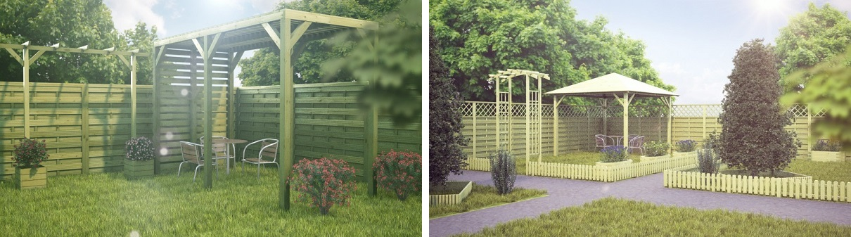 Pawilony ogrodowe z drewna - najlepszy wybór