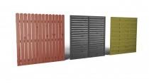 Zbuduj ogrodzenie z paneli ogrodowych Wooder