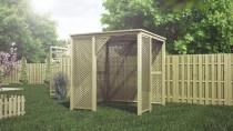 Płoty HOLENDER to rozwiązanie idealne do ogródka działkowego