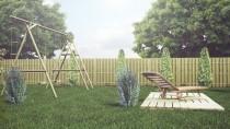 Zaaranżuj ogrodzenie ogrodu przy użuciu płotu Wooder