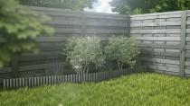 Szare obrzeże trawnikowe - różne możliwości wykorzystania