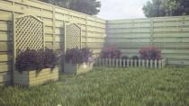 Płotek ogrodowy WAMPIR 114x45/28