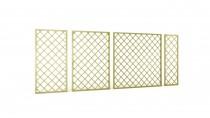 Płoty ażurowe Wooder - zbuduj zieloną ściankę w ogrodzie, na tarasie i na balkonie