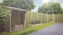 Propozycja wykorzystania pergoli drewnianej w ogrodzie