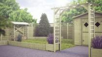 Wykorzystaj kwietniki Wooder w ogrodzie lub na tarasie