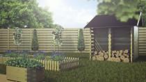 Ogród i taras to idealne miejsca dla donic drewnianych