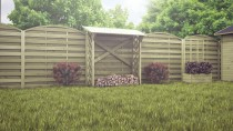 Drewutnia - niezbędny element architektury ogrodowej