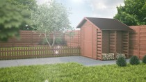 Domek - altanka ogrodowa, dzięki której w ogrodzie zapanuje porządek