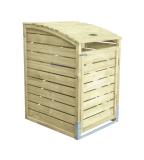 Obudowa śmietnika drewniana 78X122X90