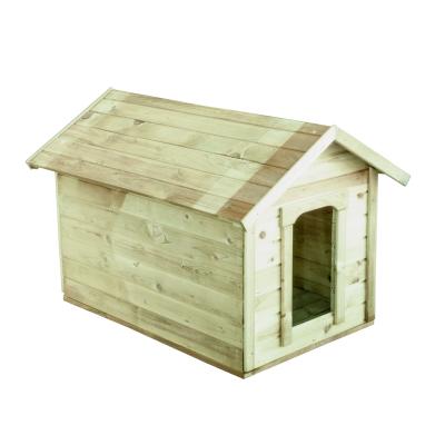 Drewniana buda dla psa - miejsce w ogrodzie dla Twojego pupila