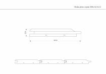 rysunek techniczny deski
