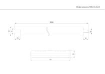Deska tarasowa 300x12,2x2,2 naturalny