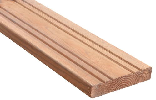 Deska tarasowa 300x14,4x2,7 brązowy