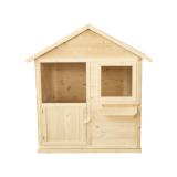 Domek MAGIC z drewna świerkowego - wyjątkowe miejsce dla dziecka w ogrodzie