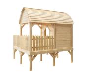 Estetyczne wykonanie i bezpieczeństwo Twojego dziecka w domku ogrodowym