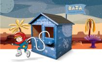 Domek dla dzieci drewniany MAGIC 136x127