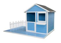 Domek MAGIC z ogródkiem - pomaluj na dowolny kolor