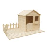 Bezpieczna zabawa w ogrodzie - wybierz domek dla dzieci Wooder