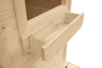 Doniczka pod oknem to dodatkowy gadżet dla małych ogrodników
