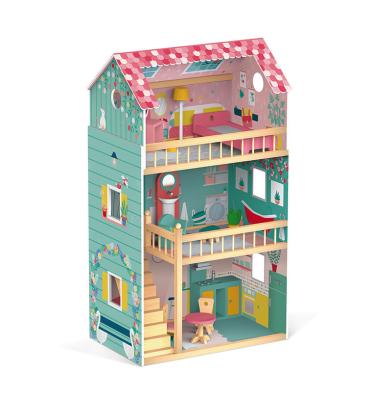 Drewniany domek dla lalek - marzenie każdej dziewczynki