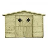 Domek JUMBO z drewna sosnowego - bez podłogi
