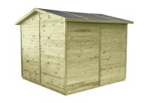 Domek do ogrodu lub na działkę - ekologiczny i naturalny
