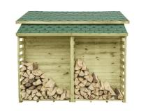 Wszystkie elementy są wykonane z impregnowanego drewna sosny