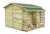 Domek PREMIUM z drewutnią
