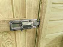 Drzwi zabezpieczone zasuwą
