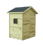 Domek ogrodowy MINI z drewna sosnowego impregnowanego