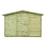 Domek drewniany ogrodowy z podłogą