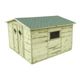 Domek z drewna sosnowego - najlepszy wybór do ogródka