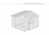 Wymiary wewnątrz domku COMBO