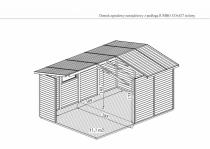 Wymiary domku JUMBO - wewnętrzne