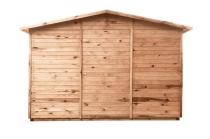 Domek drewniany Jumbo jest trwały i solidny