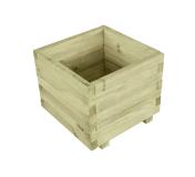 Donica drewniana kwadratowa o boku 40 cm