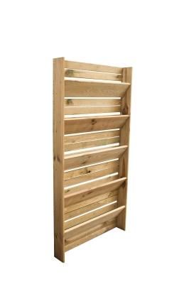 Donica wertykalna drewniana 180x90x14