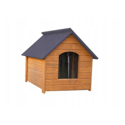 Drewniana buda dla psa L 64x82x64 ocieplana