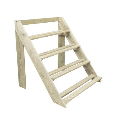 Drewniana półka stojąca 93x91,5x85,1