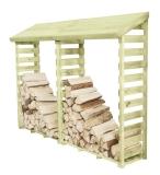 Miejsce do składowania i sezonowaia drewna opałowego