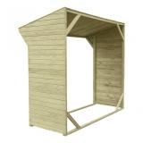 Drewutnia ogrodowa - niezbędna dla własciecieli kominków