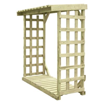 Drewutnia ogrodowa XL - do przechowywania drewna