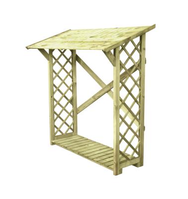 Drewutnia z ażurowymi ściankami umożliwiającymi dostęp powietrza