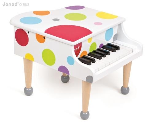 Fortepian zabawka dla Twojego malucha - przyjemne dźwięki i wyjątkowa estetyka