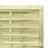 Estetycznie wykonana furtka drewniana
