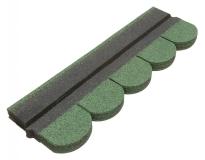 Gont w kolorze zielonym to estetyczny i wytrzymały materiał na dach