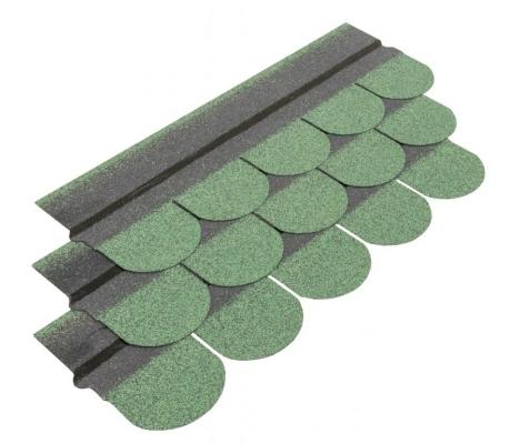 Najlepsze zabezpieczenie dachów - zielony gont bitumiczny