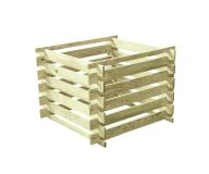Kompostownik drewniany 700 L 100x100x70