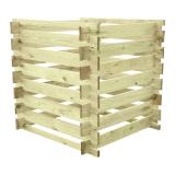 Kompostownik drewniany 1000 XL 100x100x100
