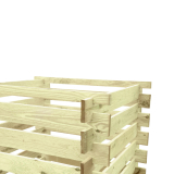 Impregnowany drewniany kompostownik - niezbędny w każdym ogrodzie